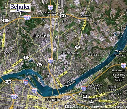 Map to Schuler Homes -- Click for Directions