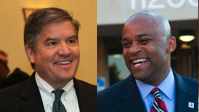 Denver Mayoral Candidates Chris Romer and Michael Hancock