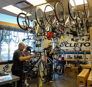 Cycleton Bicycle Shop Stapleton
