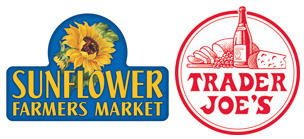 Sunflower Markets and trader Joe
