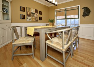 11415 Top Walnut Formal Dining Room