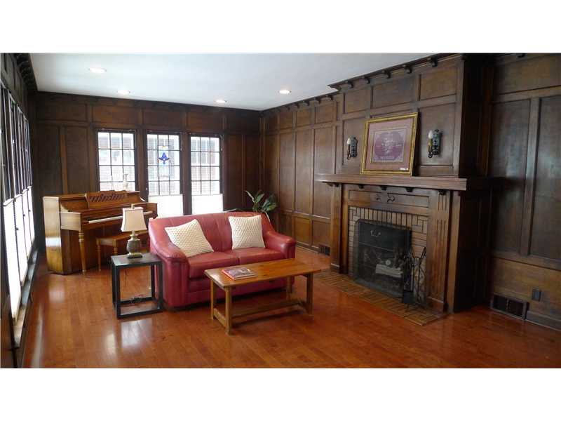 Living Room of Historic Irvington Home