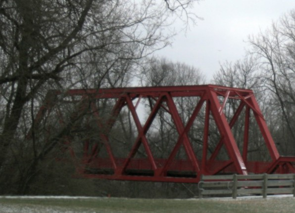 Indianapolis photos Monon Bridge