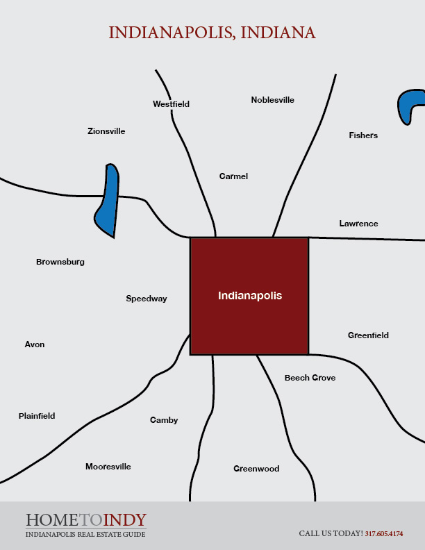Indianapolis Location Map