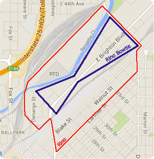 River North Boundary Map