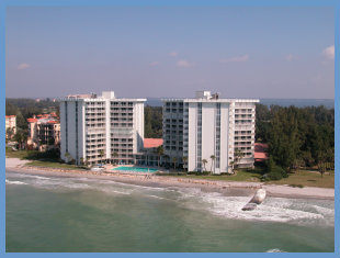 Gulf-side condos on Longboat Key