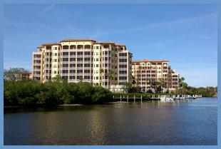Waterfront condominiums in Sarasota, FL