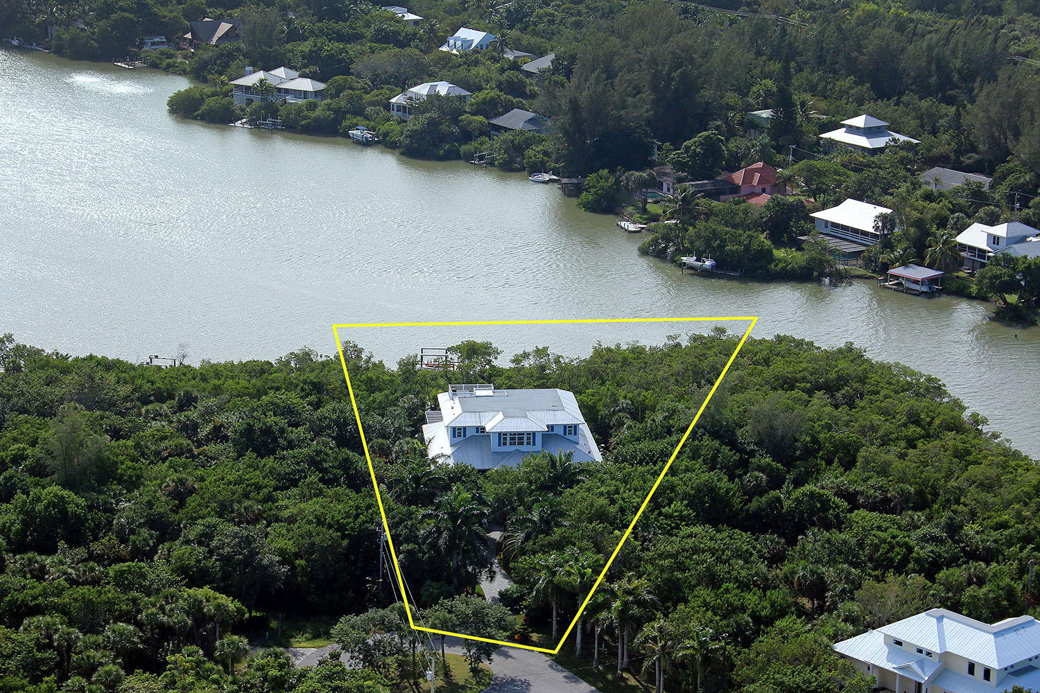 garske 2405 blue crab court aerial
