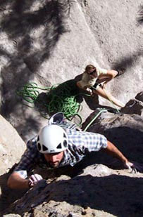 Rock Climbing in June Lake