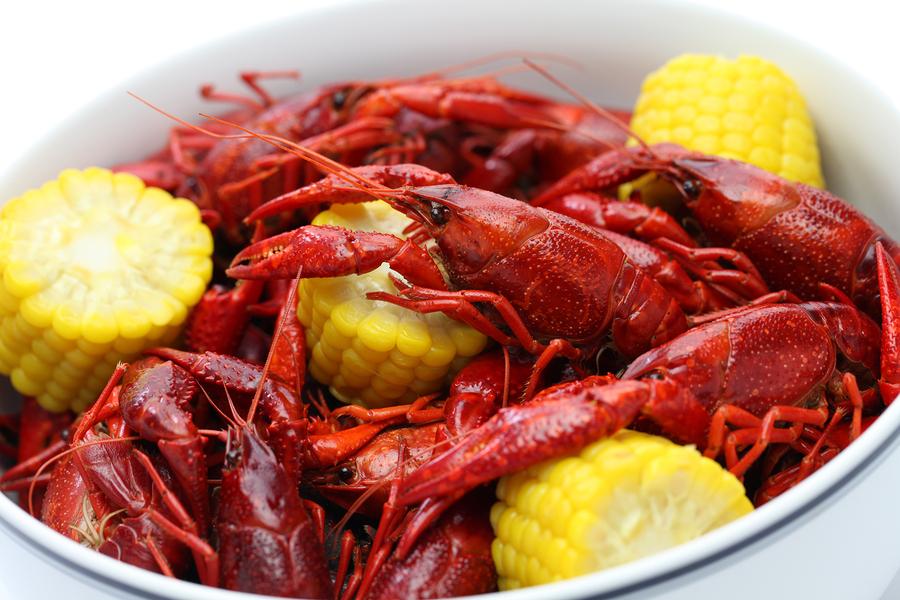 Feast at the Crawfish Boil at the Garage Bar May 29 | Joe Hayden Real ...