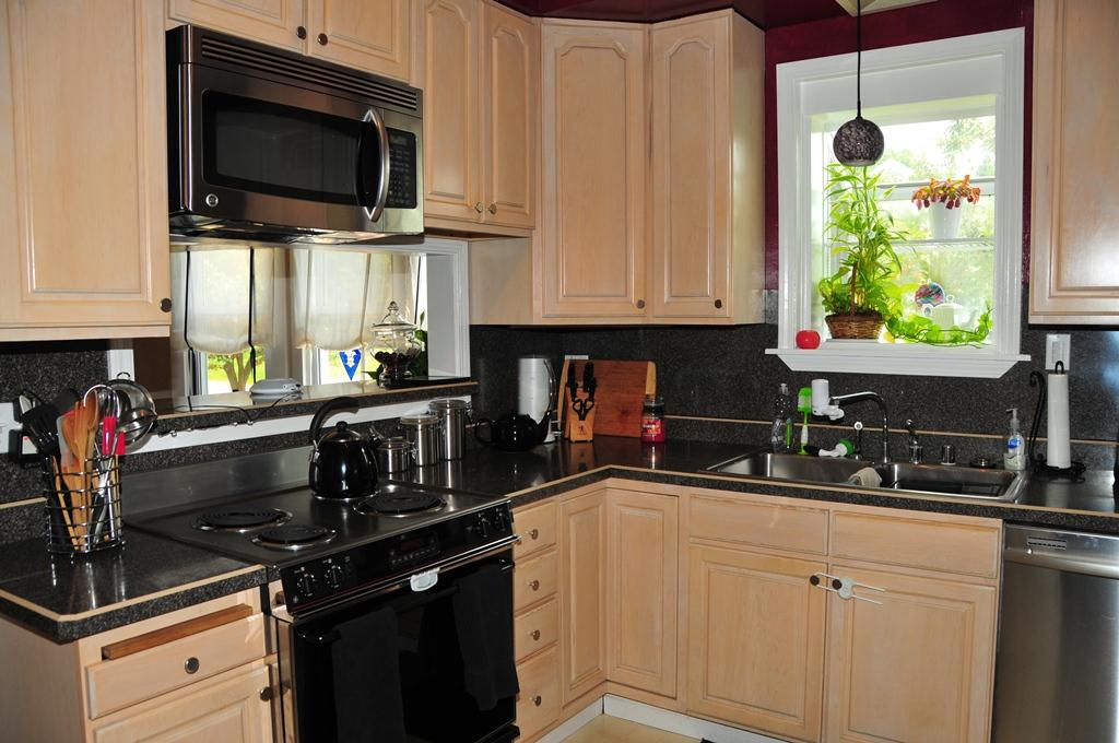 Kitchen with New Stainless Steal Appliances