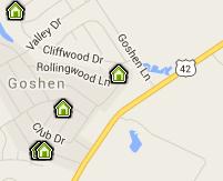 Goshen Map