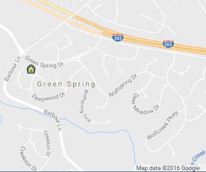 Green Spring Map