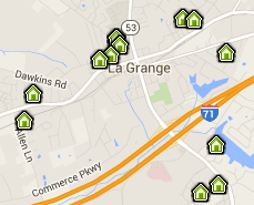 La Grange Map