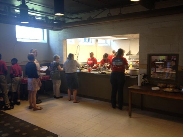 Lunch Red Day Louisville with Hollinden Team