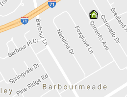 Barbourmeade Map