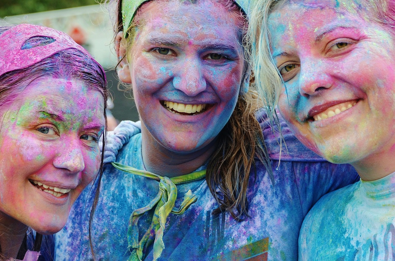 Color Vibe 5k in Louisville
