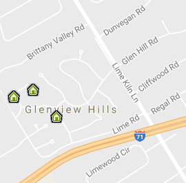 Glenview Hills Map