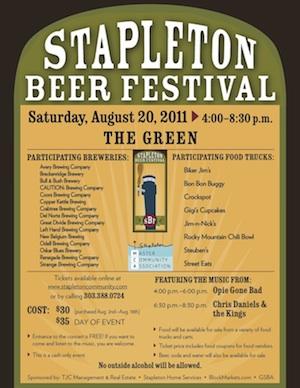 2011 Stapleton Beer Festival