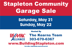 2015 Stapleton Community Garage Sale