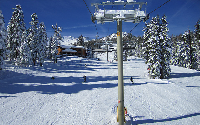 Skiing and Snowboarding at Mammoth Mountain