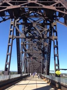 Big Four Bridge Louisville KY 2014
