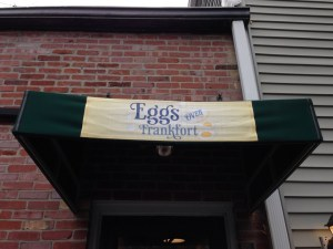 Eggs Over Frankfort