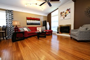 1202 Girard Living Room