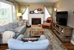 414 Cornell Living Room
