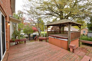 9802 Bay Hill Back Deck