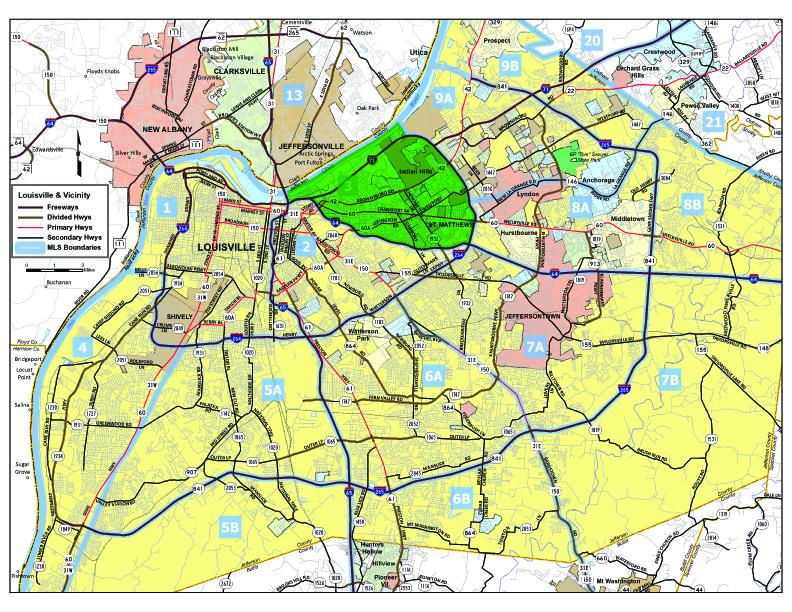 Area 3 Louisville KY Real Estate