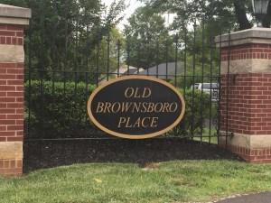 Old Brownsboro Place Neighborhood Louisville KY