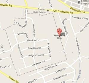 Woodland Hills Map