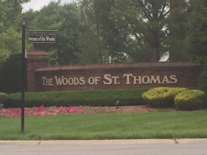 Woods of St Thomas Neighborood Louisville KY