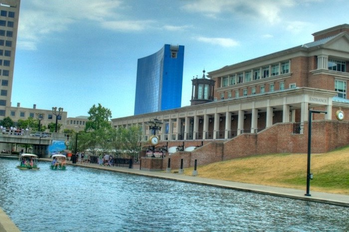 Canal in Indy