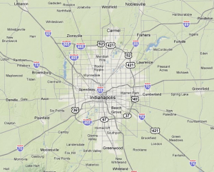 Indianapolis Map