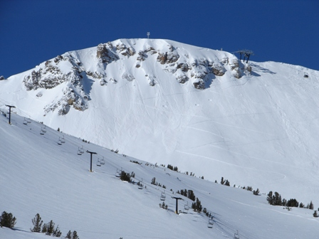 Mammoth Mountain- Top of Gondola and Chair 5