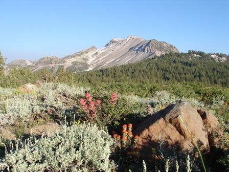 Mammoth Mountain Ski Area from Minaret Vista