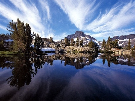 Mammoth Lakes Backcountry - Mt Ritter & Thousand Island Lake