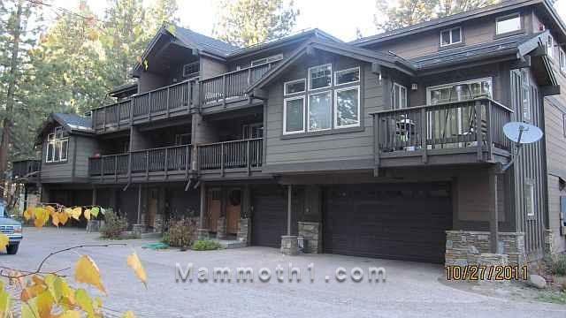 Manzanita Ridge Townhomes for Sale in Mammoth Lakes