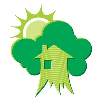 sun, tree, global warming