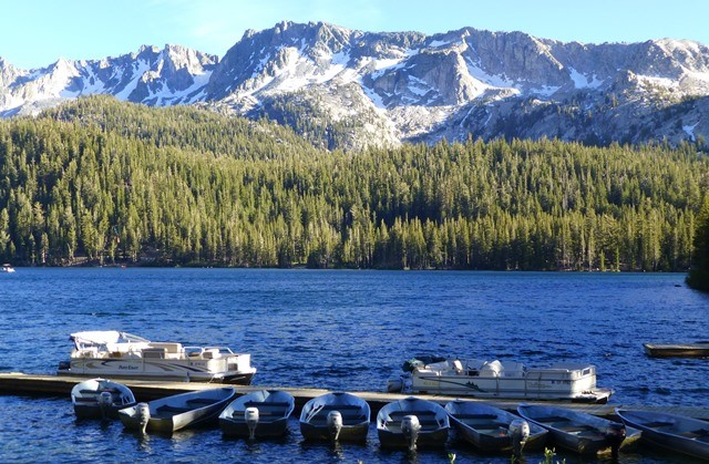 Lake Mary in Mammoth Lakes