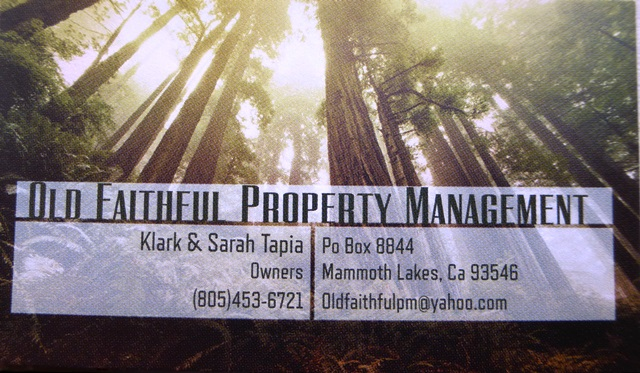 Old Faithful Property Management