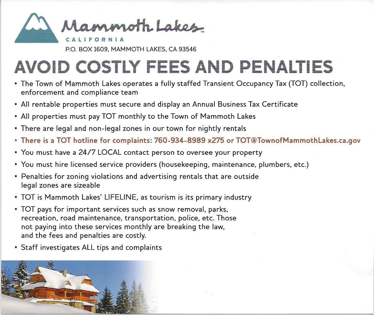 Town of Mammoth Lakes
