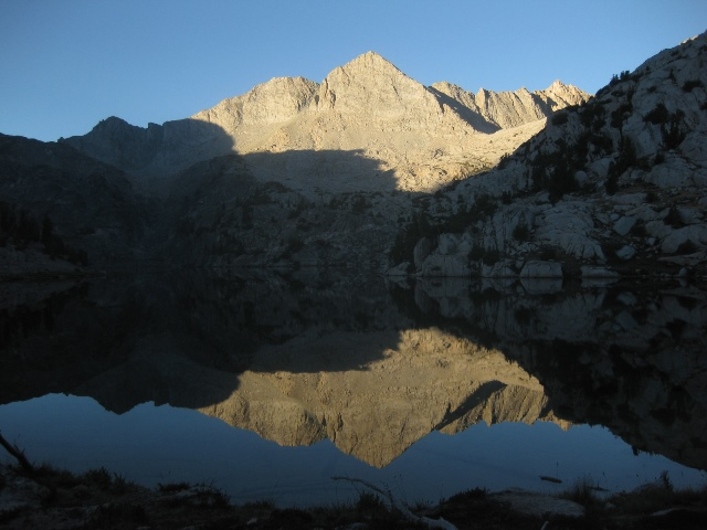 Sunrise at Sixty Lake Basin