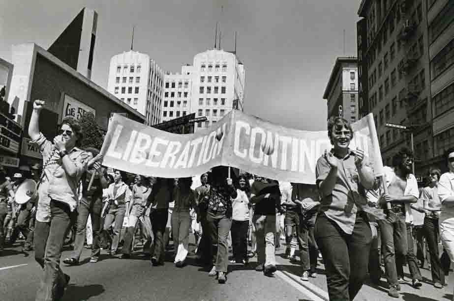 vintage photo of Hollywood Gay Parade