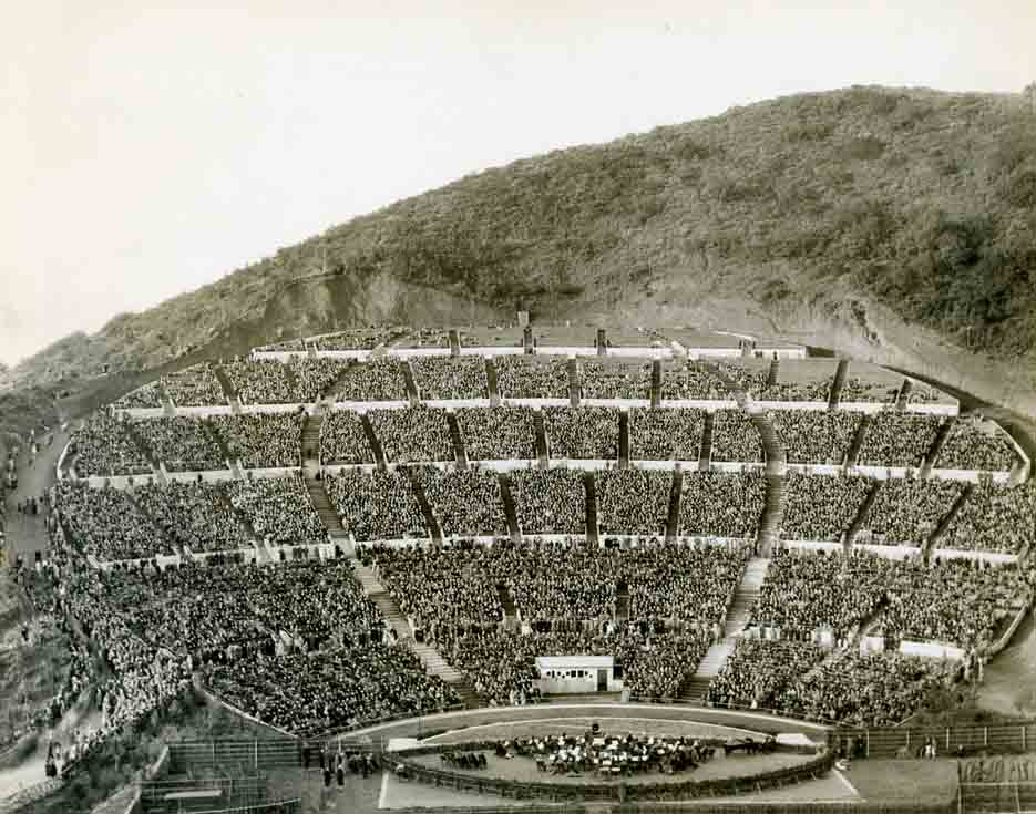 Historic photo of Hollywood Bowl