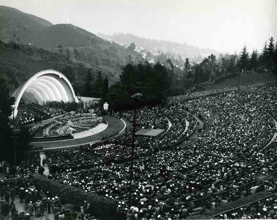 Early Photographs of Hollywood Bowl