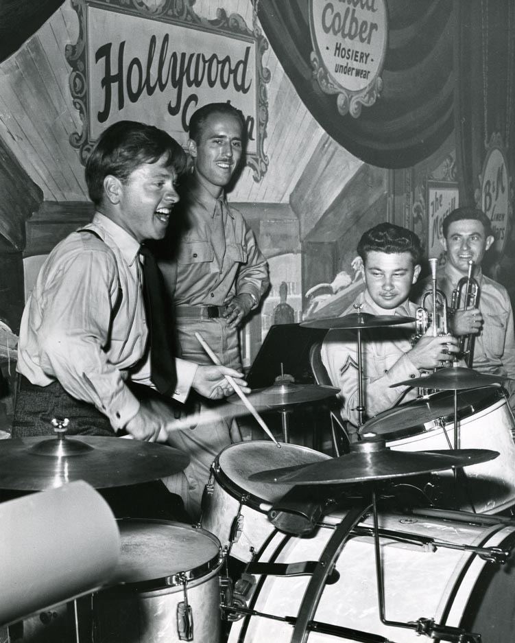 Photo of Mickey Rooney at Hollywood Canteen