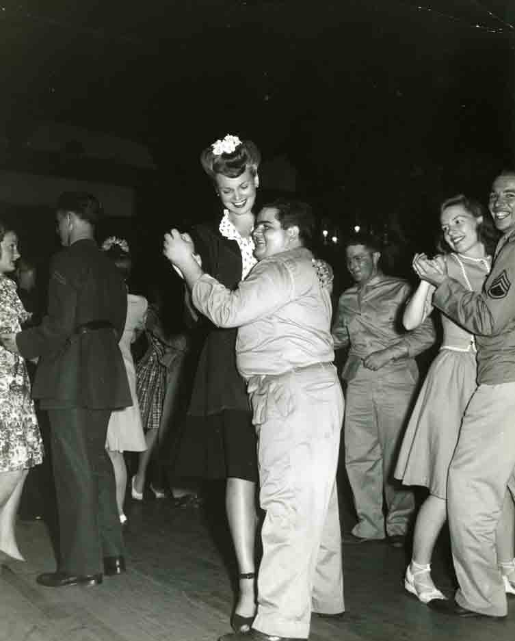 Photo of Bunny Waters at the Hollywood Canteen